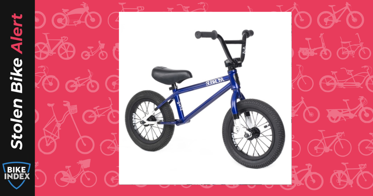 stolen 2014 subrosa child u0026 39 s balance bike
