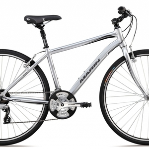 2006 Marin Bikes Larkspur CS3 bicycle Silver or Gray
