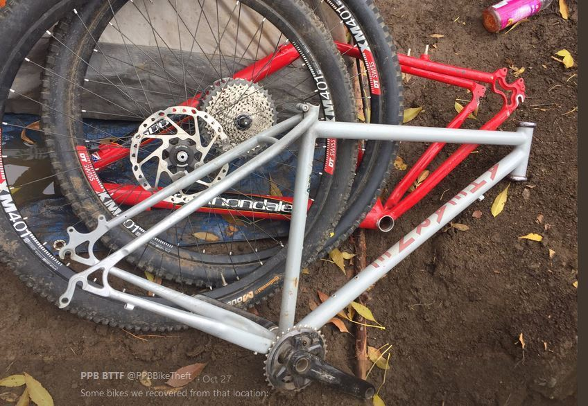 Several Of Which Were Stolen From Portland S Metropolis Bikes Back In September