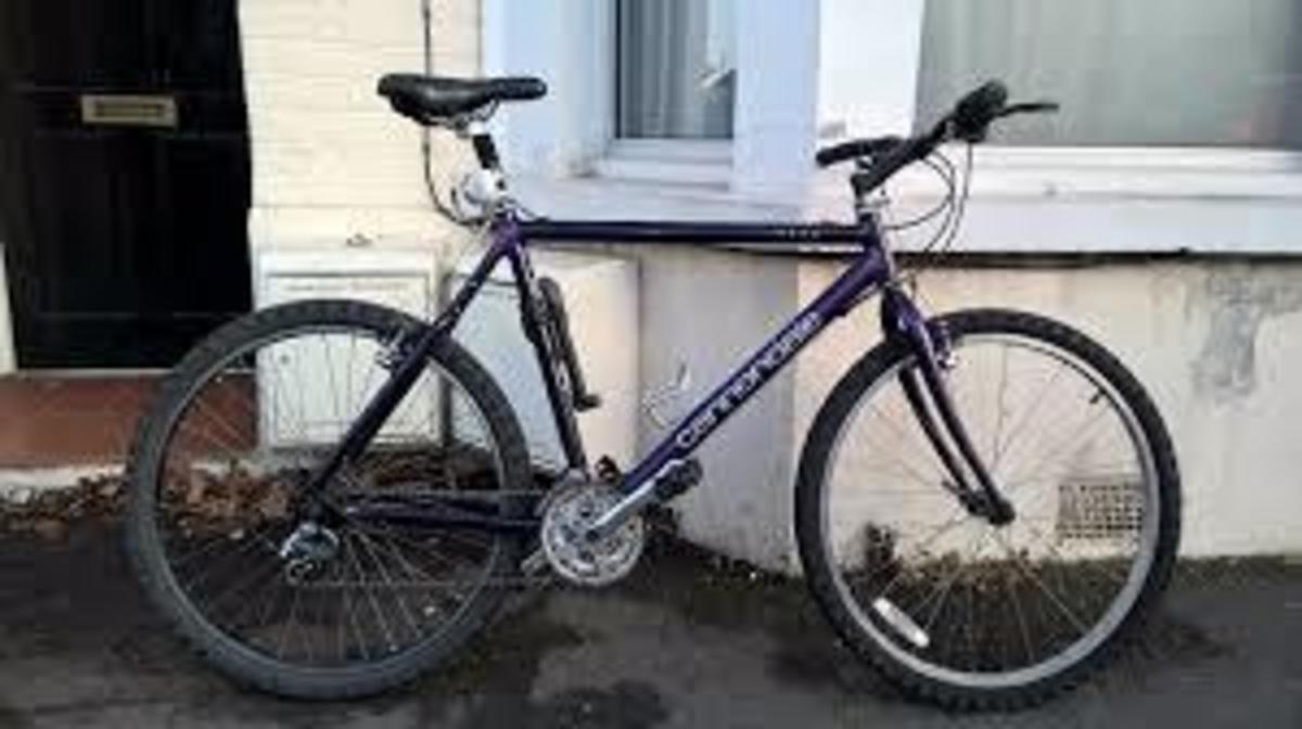 Stolen 1995 Cannondale M300