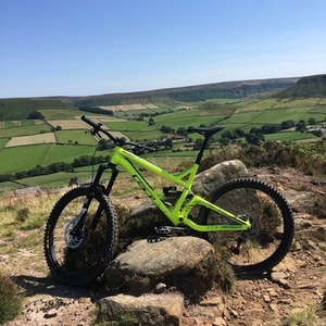 2016 GT Bicycles Sanction Green