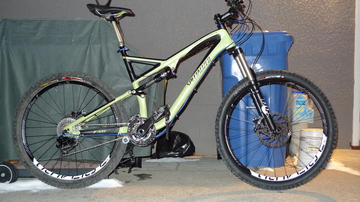 b00d74768c5 Stolen 2011 Specialized Stumpjumper FSR Expert EVO