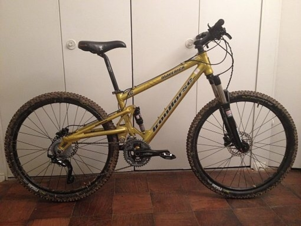 Stolen Maverick Iron Horse Maverick 4.0 Adult XC Dual-Suspension ...