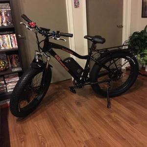 2016 Rad Power Bikes Rad city commuted fat tires