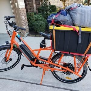 2018 Rad Power Bikes Radwagon cargo bike (rear storage)