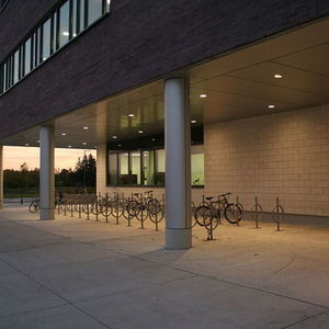 Small 800px conestoga college cambridge campus bike rack 21 oct 2012