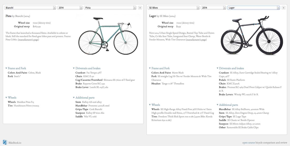 Using BikeBook.io