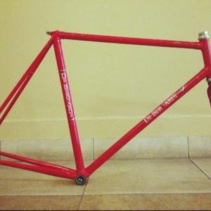 DeBernardi Track Bike  Red