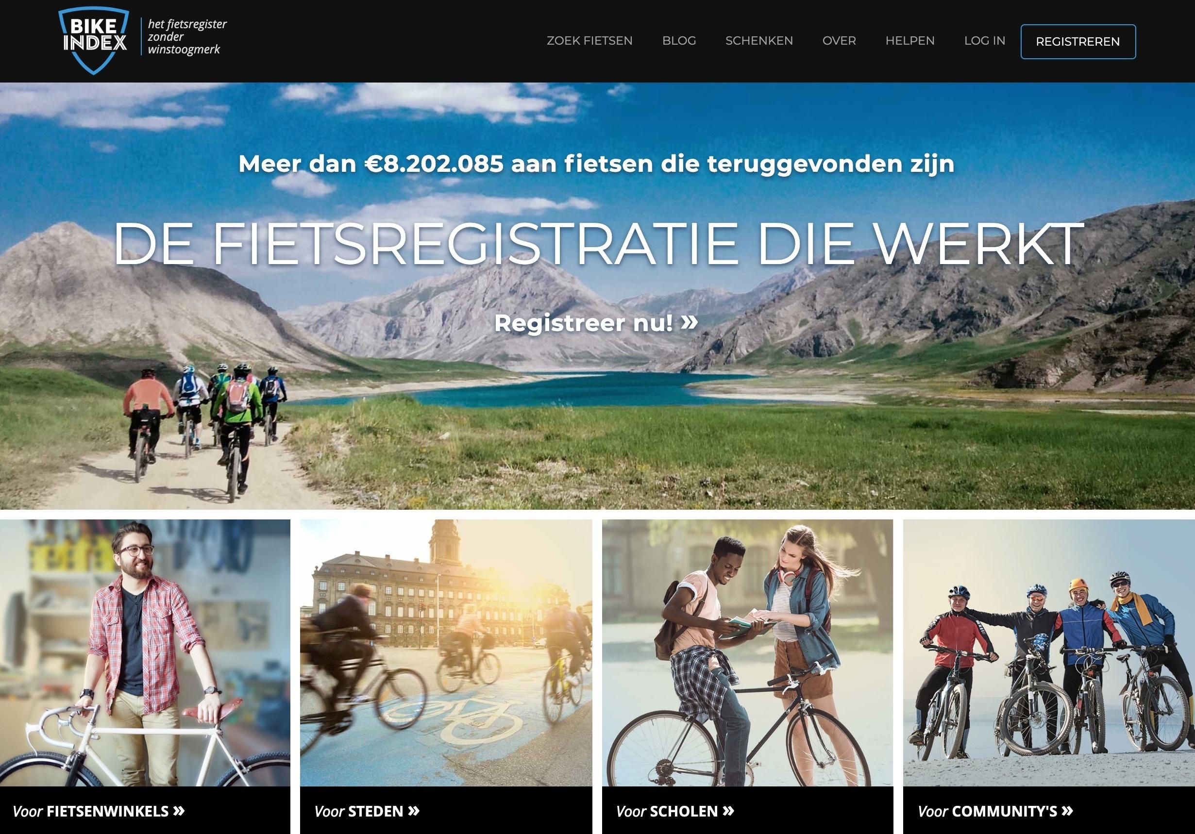 Bike Index in Dutch