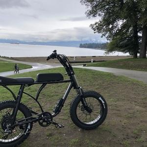 "2018 Custom ""Super 73"" style E-Bike Custom ""Super 73"" style Black"