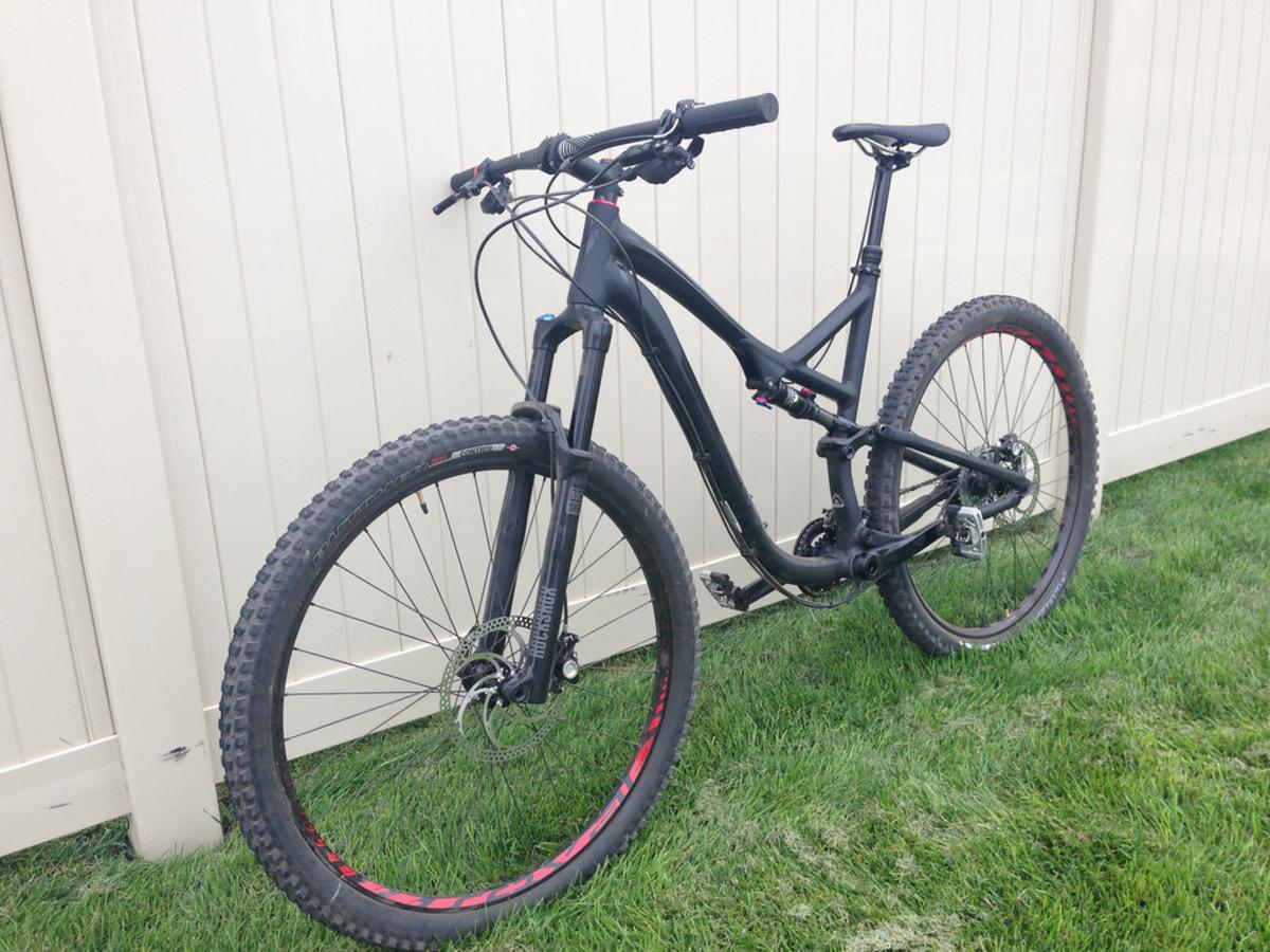 0b405cbe45d Bike Stats. Manufacturer: Specialized; Year: 2014; Model: Stumpjumper FSR  ...