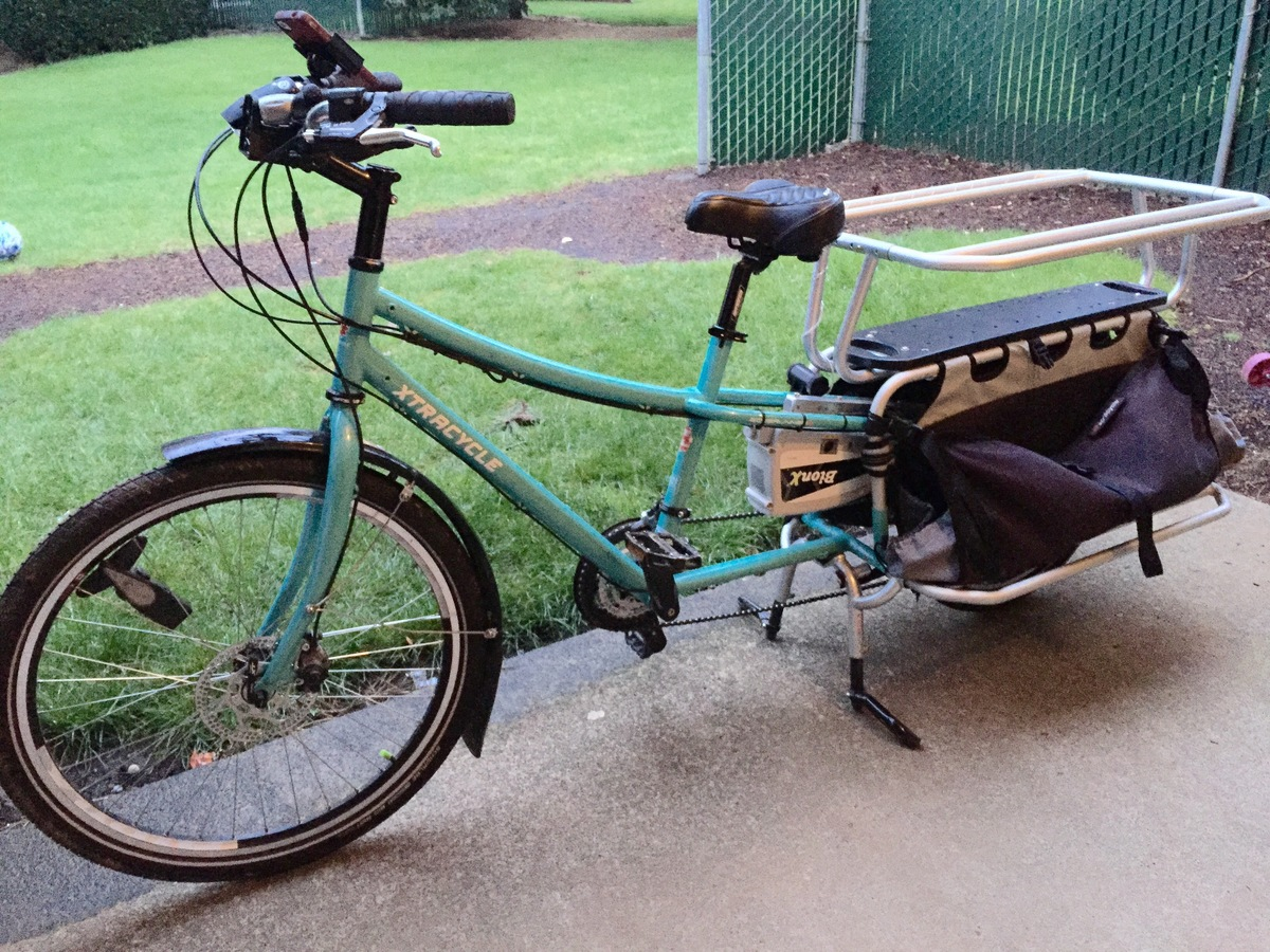 Stolen 2013 Xtracycle Edgerunner Cargo Bike Rear Storage