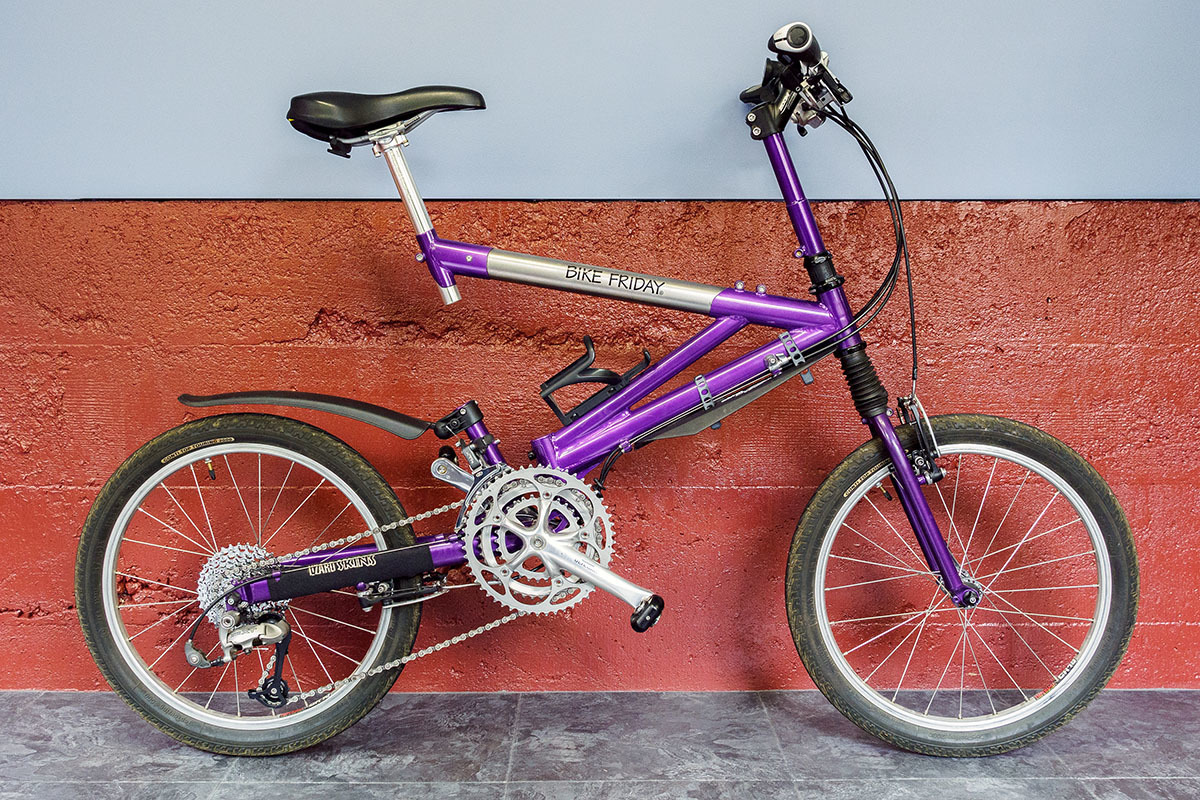 1999 Bike Friday Air Llama