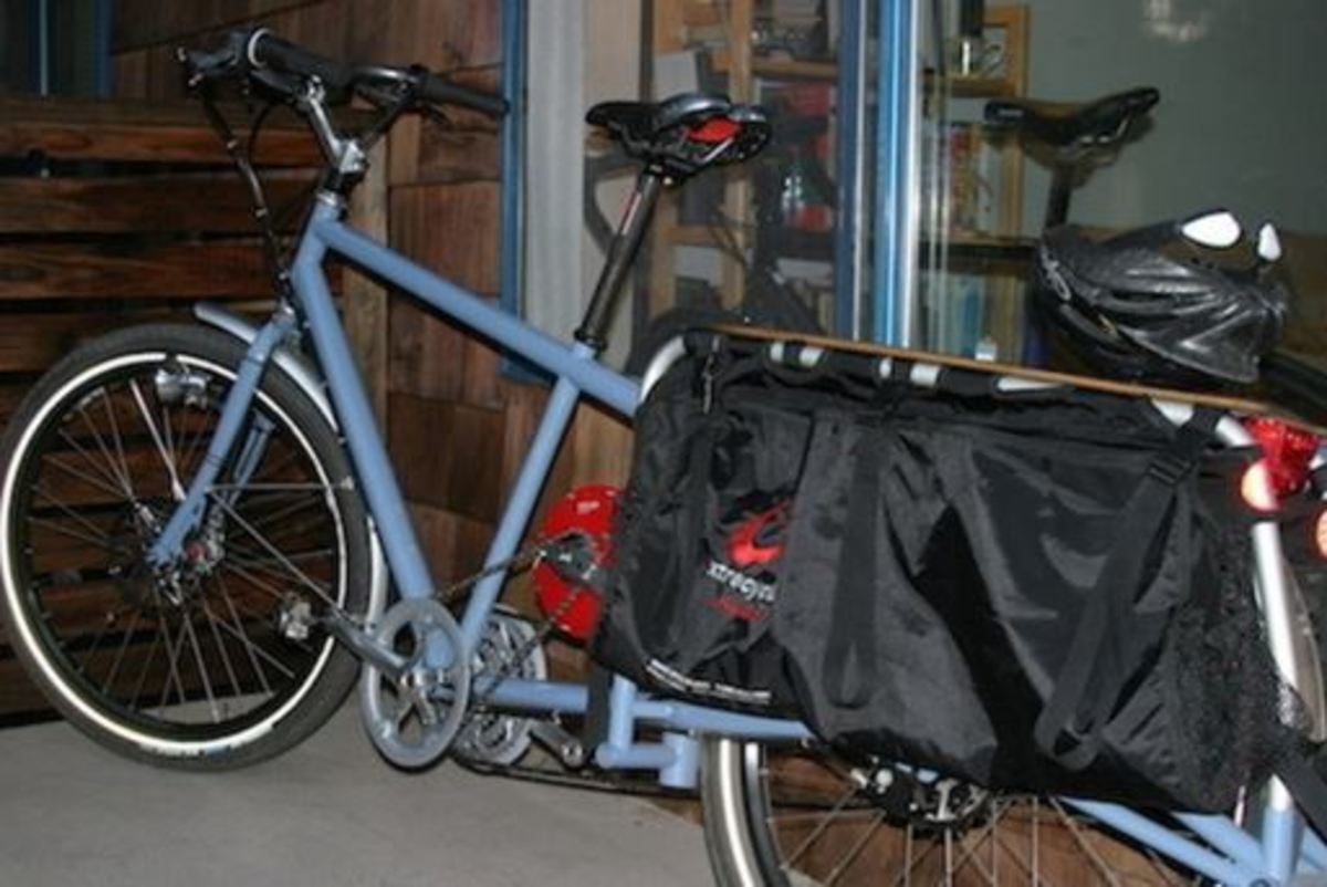 Inglis custom cargo bike recovered 5-8-2015