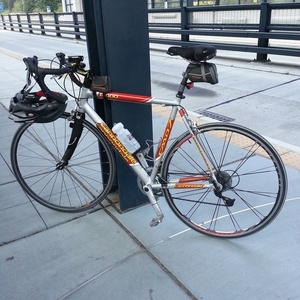 2009 Cannondale CAAD7 Silver or Gray