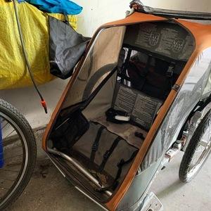 Chariot bike trailer