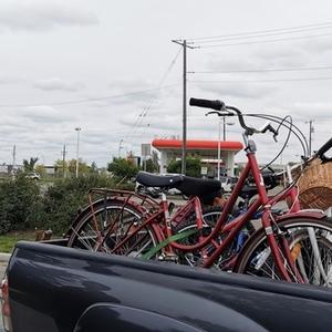 Raleigh Prim Womens Medium 17 Hybrid Bike Red