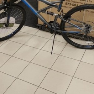2019 Supercycle Double suspension Silver, gray or bare metal and Blue