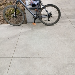 2011 Iron Horse Bicycles Warrior Silver, gray or bare metal