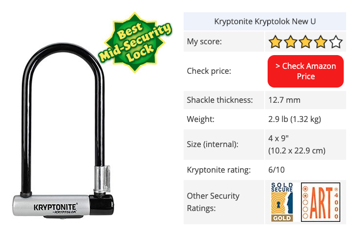 kryptonite kryptolock new-u