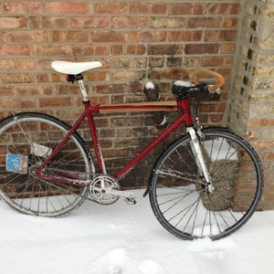 Unknown manufacturer bicycle Red
