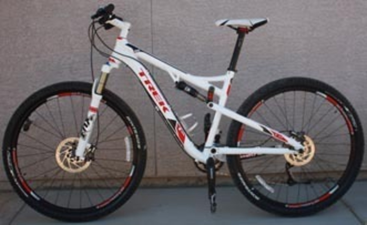 4de6f8dcd18 2012 Trek Superfly 100 Al Elite(white) — Bicycle Tucson