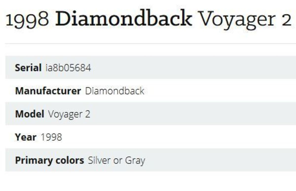 Diamondback Voyager 2