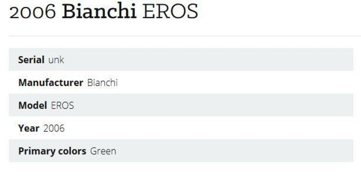 Bianchi Eros