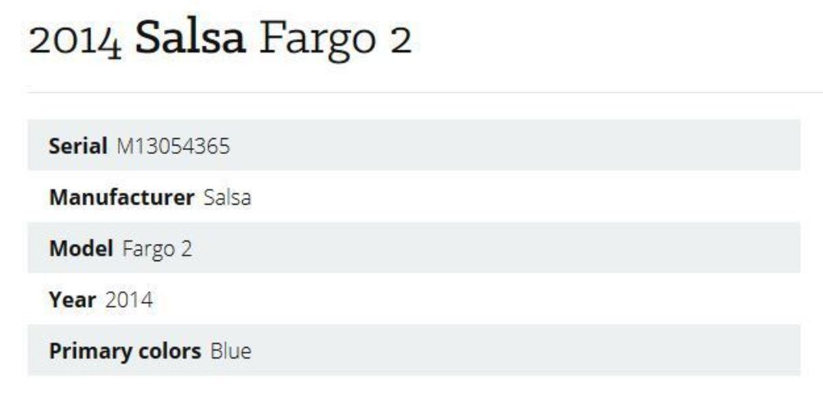 2014 Salsa Fargo 2