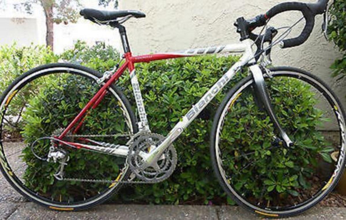 Stolen 2005 Bianchi Vigorelli