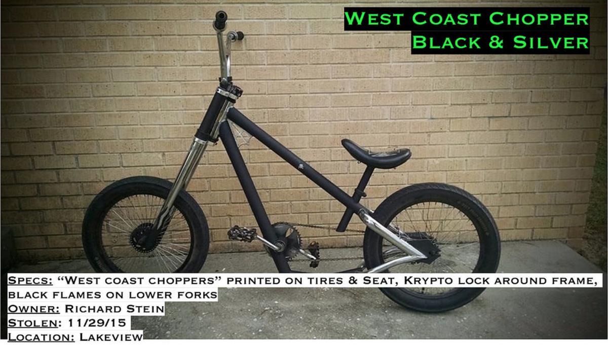 Stolen West Coast Chopper Chopper