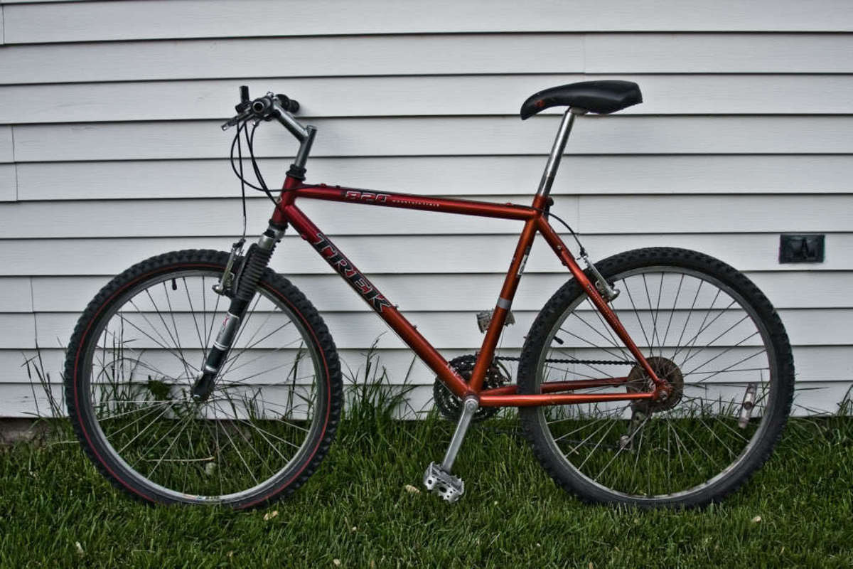 0f525cd9f0e Stolen 1999 Trek 820 I believe