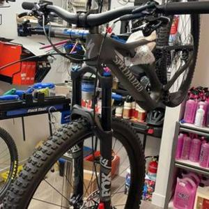 2021 Specialized SJ comp Carbon Silver, gray or bare metal