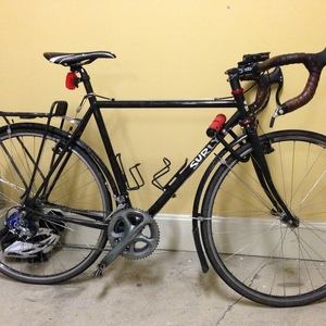 2012 Surly Cross Check bicycle Black