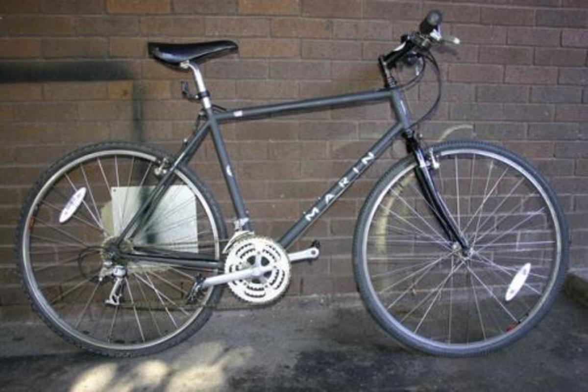 Stolen 1992 Marin Bikes Sausalito Hybrid