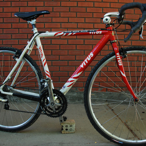 Vitus Cyclo Cross Red and White