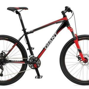 Giant Revel 1  Black Red Stock Photo