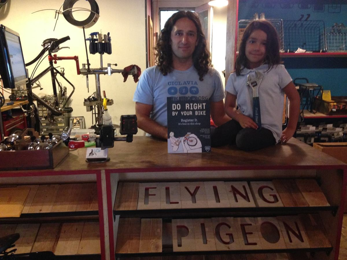 Flying Pigeon Bike Shop