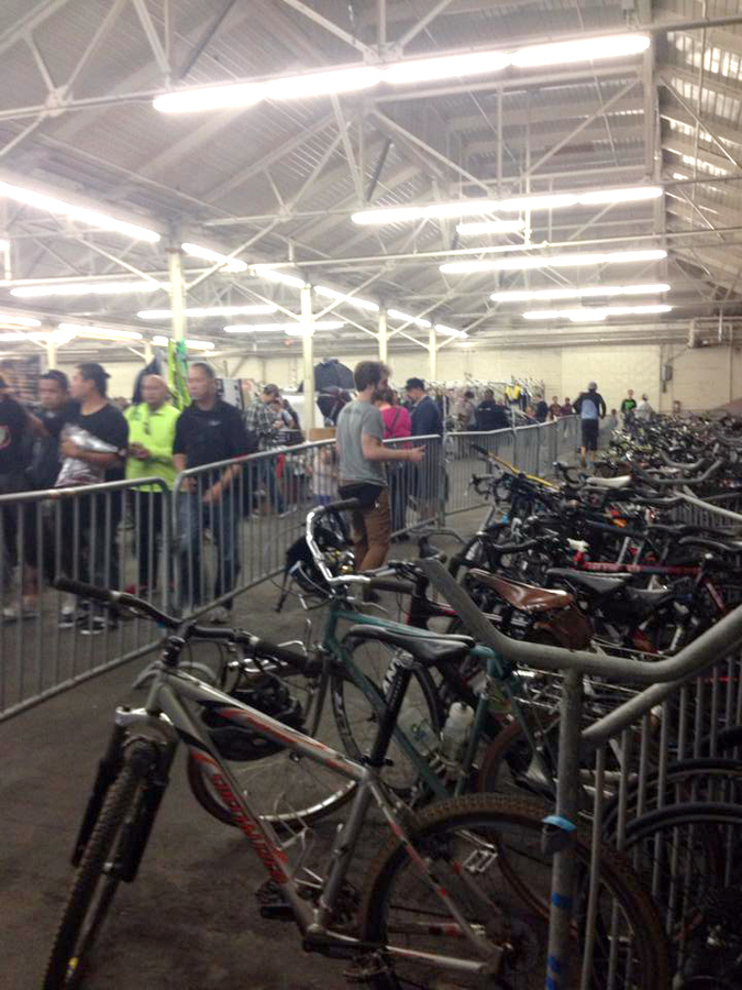 Bike Valet at the SF Bike Expo