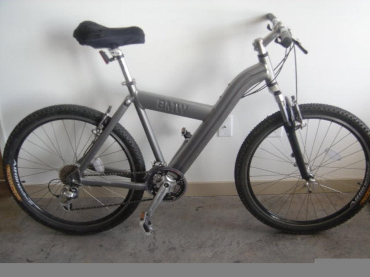stolen 200 bmw q3.s folding mountain bike