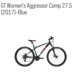 2017 GT Bicycles GT Women's Aggressor Comp 27.5 XS