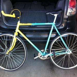 1980s custom fixed gear / single speed