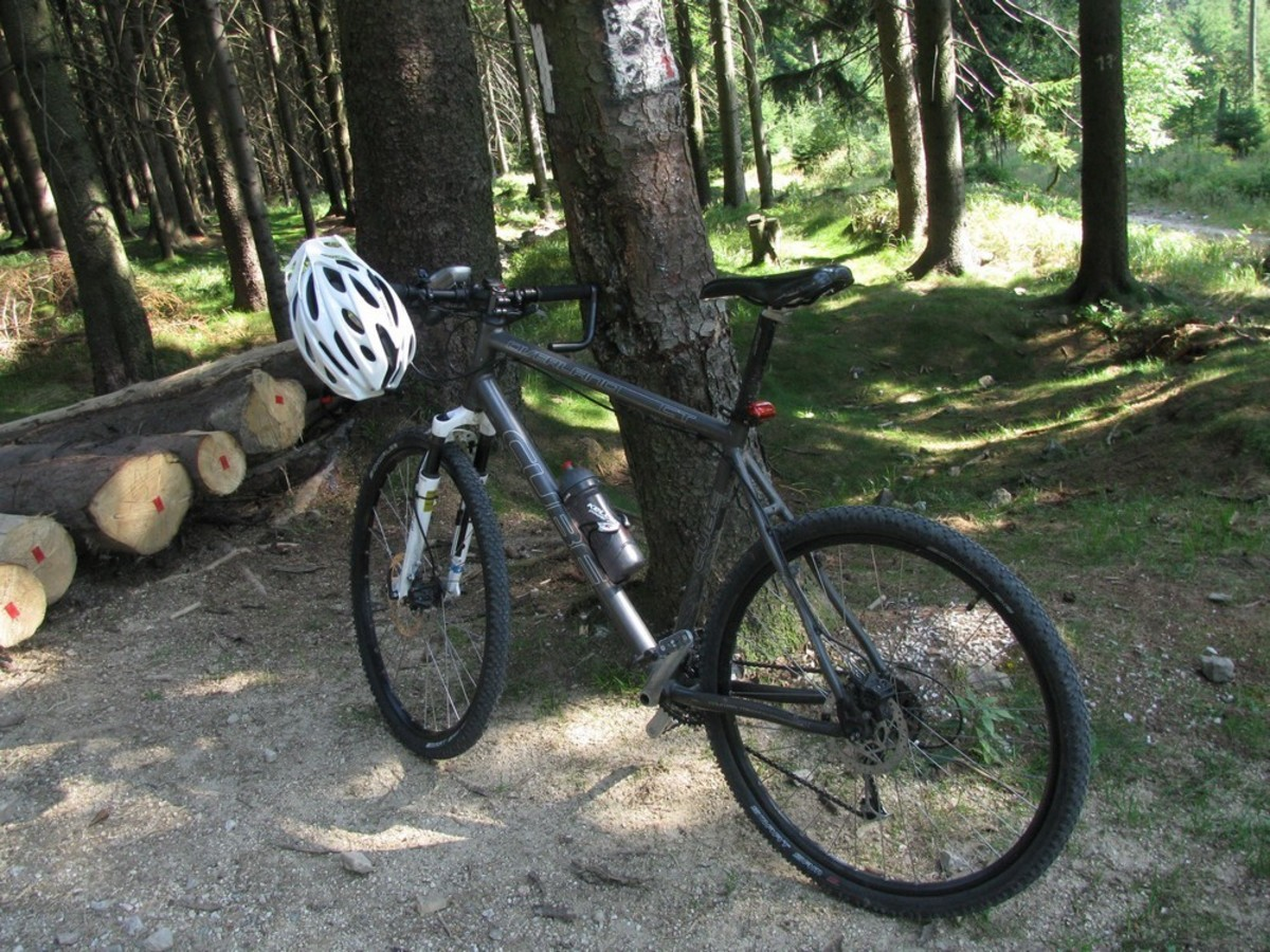 Stolen 2007 Cube Overland Cross Trekking