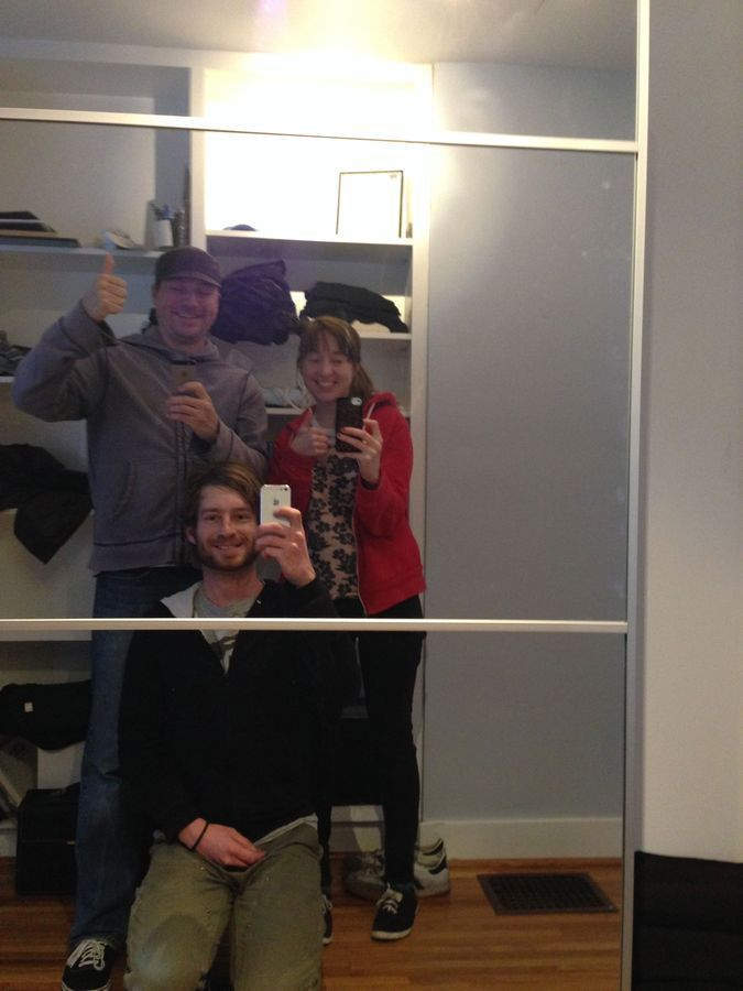Super selfie with Bryan Hance