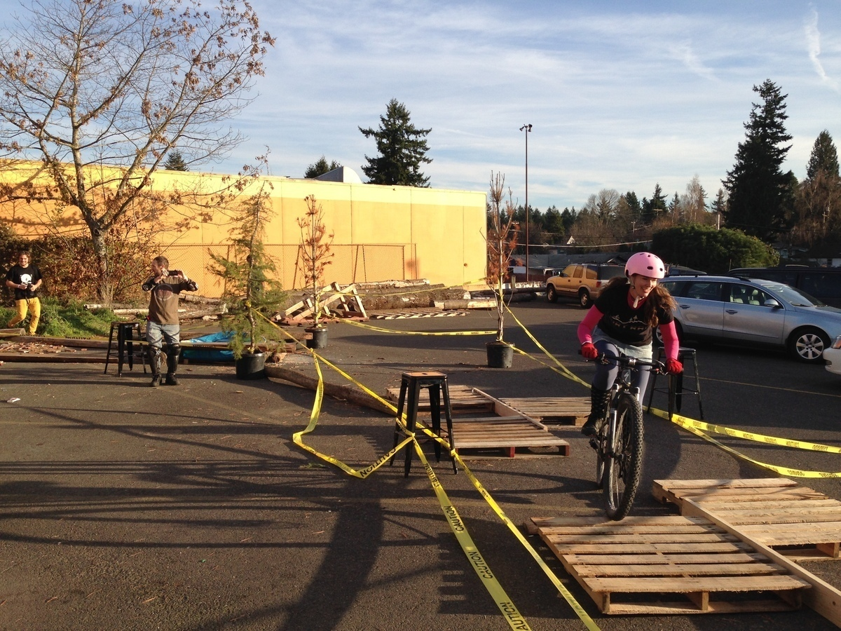 Lumberyard Helltrack race Jen Bardsley