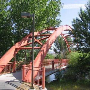 Small boisegreenbeltredbridge
